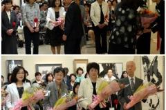 大賞受賞者6名への花束贈呈